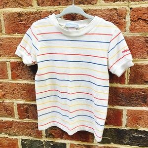 Vintage Oshkosh Kids Rainbow tee shirt Size 5